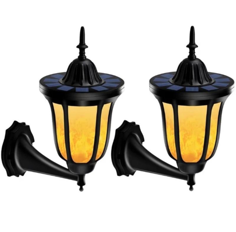 Wandlamp - Vlameffect - Set van 2