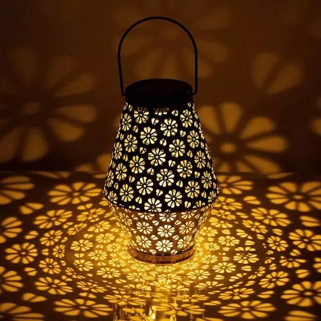 Daisy - Bloemmotief - Solar Hanglamp