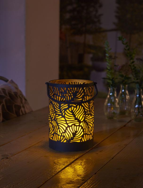 Vogue - Vlameffect - Tafellamp op zonne-energie