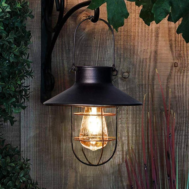 Retro - Solar Hanglamp - Zwart