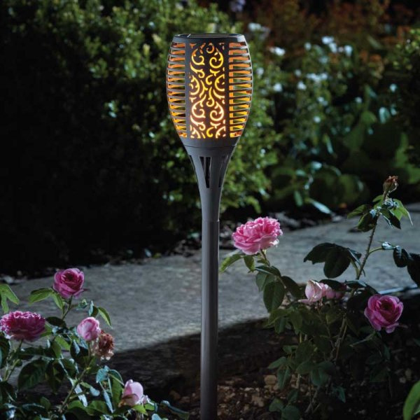 Tuinfakkel - Vlameffect - Solar Tuinlamp