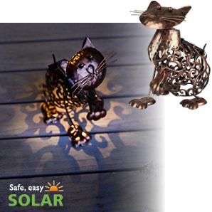 Solar Kat - Metaal - Verlichting op zonne-energie