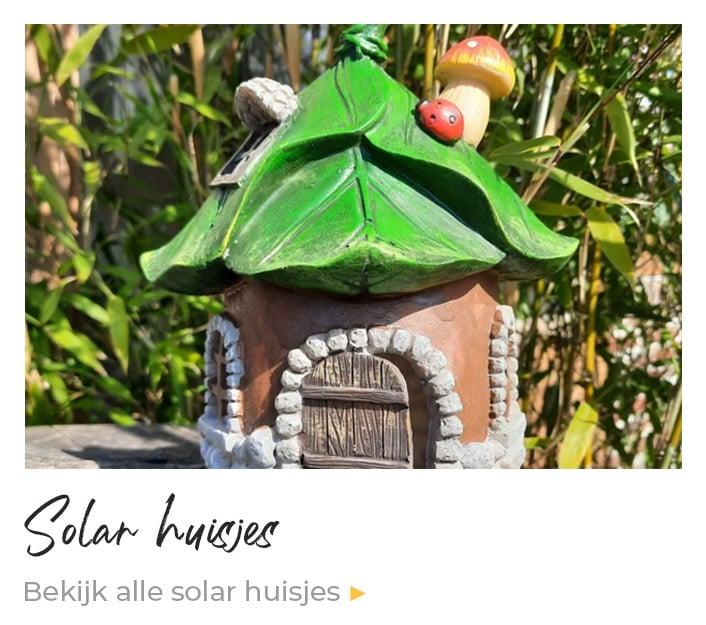 Solar huisjes kopen | Enjoythesun.nl Solar Tuindecoratie