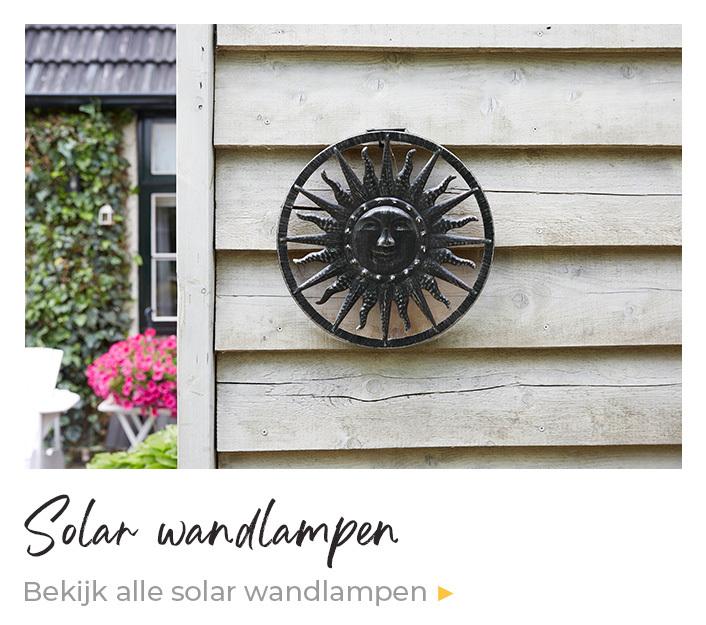 Solar wandlampen kopen | Enjoythesun.nl