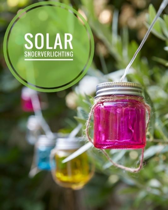 solar snoerverlichting