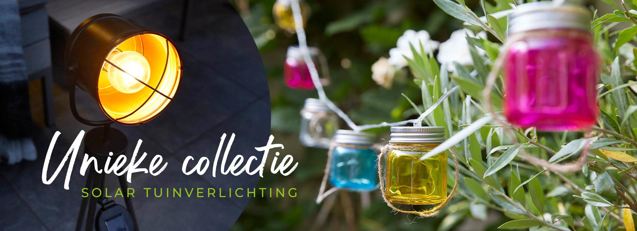 Unieke collectie solar tuinverlichting