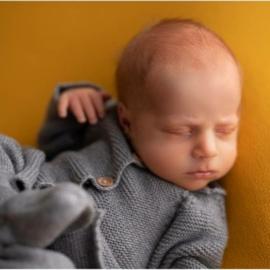 Newbornpakje Grijs