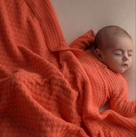 Babydekentje Koraal