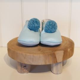 Babyslofjes Pompon Blauw