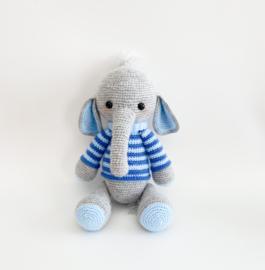 Olifantje - Streep Blauw