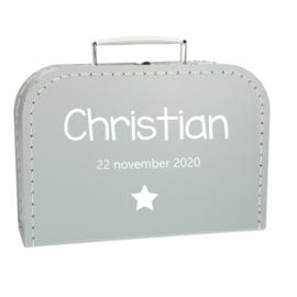 Baby Koffertje - Naam Ster
