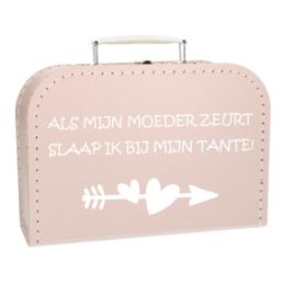 Baby Koffertje - Bij tante slapen