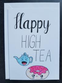 Kaart Happy high tea