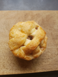 Home made mini-appeltaartje - als aanvulling op een high tea box