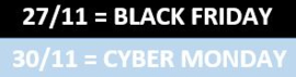 Wat is Black Friday en Cyber Monday? (2020-23/11)