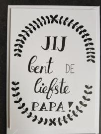 Kaart Liefste papa