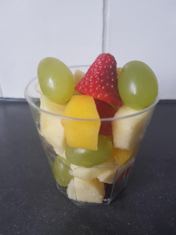 Verse fruitsalade - als aanvulling op een high tea box
