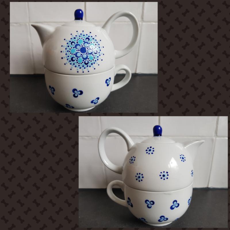 Tea for one pot gestipt