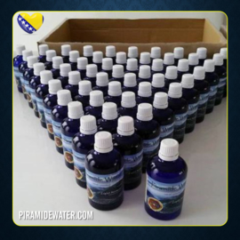Doos (tray) 56 flesjes piramidewater