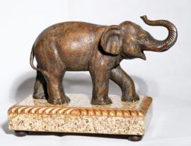 Art Deco Elephant Sculpture