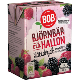 BOB - Limonade siroop - Björnbär & Hallon