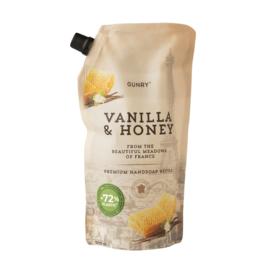 Gunry - Luxe Handzeep Eco Navul - Vanilla & Honey