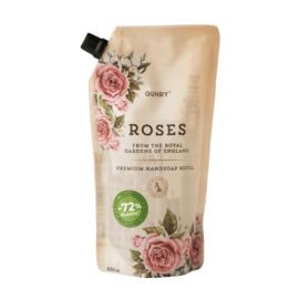 Gunry - Luxe Handzeep Navul Eco - Roses