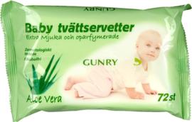 Gunry - Baby doekjes Eco - Aloë Vera
