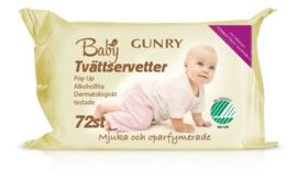 Gunry - Baby doekjes Eco - Mjuka