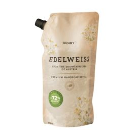 Gunry - Luxe Handzeep Eco Navul - Edelweiss