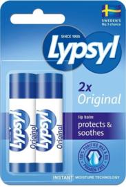 Lypsyl - Lipbalsem - Original 2-pack