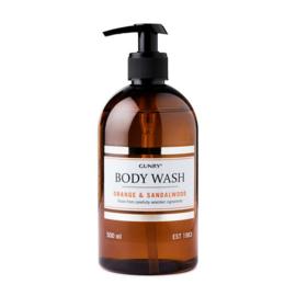 Gunry - Body Wash - Orange & Sandelwood