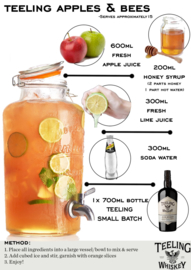 Teeling apples and bees