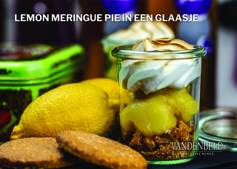 Lemon meringue en pino blanc