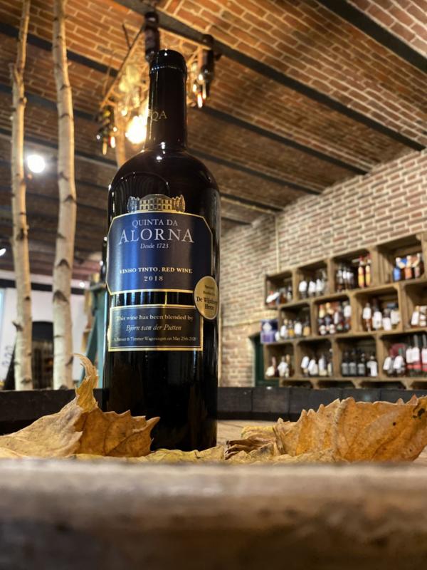 Onze eigen wijnblend van Alorna is er weer