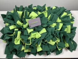 Snuffelmat rechthoek - groen