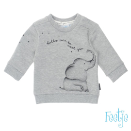 Sweater olifant- Nice to meet you- Feetje