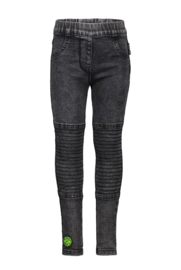 B-nosy tregging denim look black Y908-5620-090
