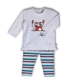 Woody meisjes baby spookdier gebroken wit 192-3-PLG-S/106