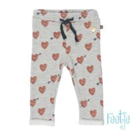 Broek AOP- Made with love- Feetje