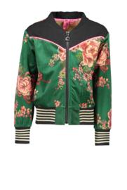 Bomber jacket bloemenprint B-nosy