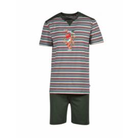 Woody Jongens-Heren pyjama jungle 201-1-PUS-S/977