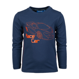Someone longsleeve race car RACER-SB-03-B NAVY
