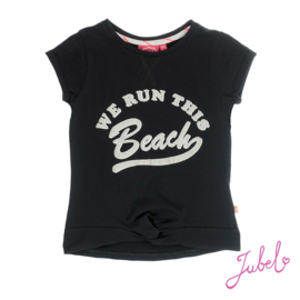 we run this beach T-shirt jubel