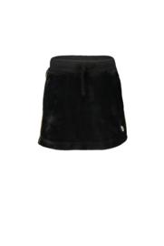 Rokje zwart velours moodstreet M910-5764-099