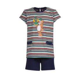 Meisjes-Dames pyjama, jungle gestreept 201-1-BST-S/977
