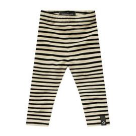 Stripes nude legging