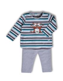 Woody meisjes pyjama gestreept spookdier 192-3-BLS-S/971