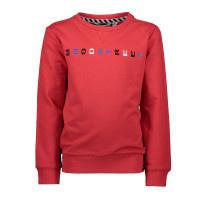 Moodstreet sweater opdruk op de borst M908-6381-272