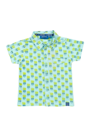Polo jongens someone ananas light blue